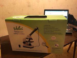 Отзывы о микроскопе цифровом Velvi натуралист в кейсе