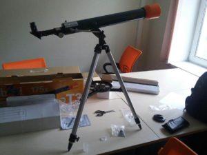 Отзыв о телескопе Levenhuk LabZZ T3