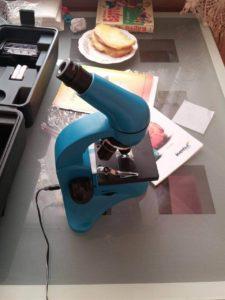 Отзыв о микроскопе Levenhuk Rainbow 50L PLUS Azure/Лазурь