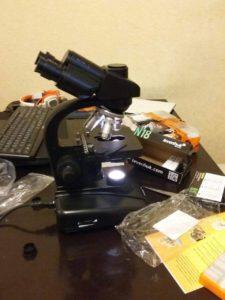 Отзыв о микроскопе Levenhuk 670T, тринокулярный