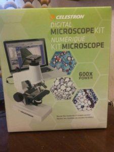 Отзыв о учебном цифровом микроскопе Celestron