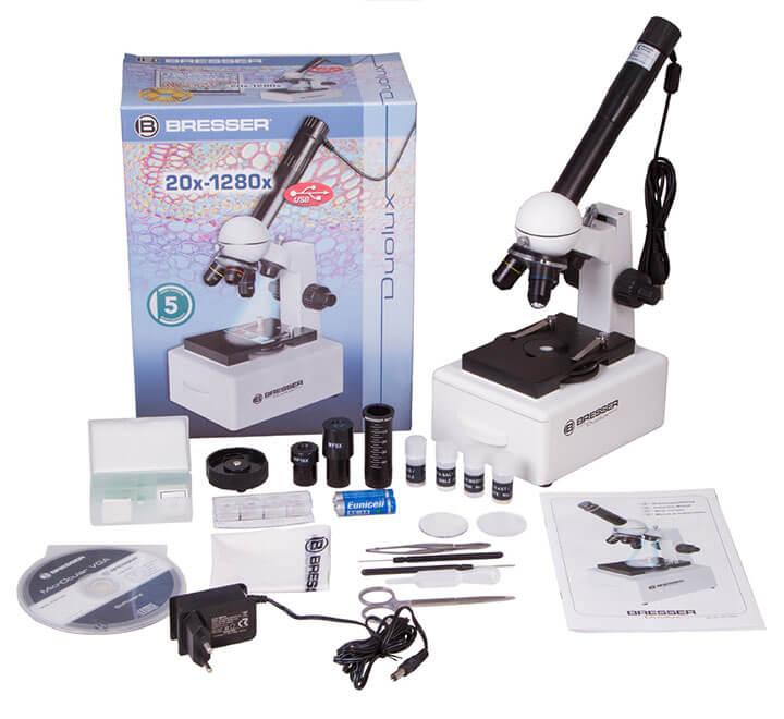 Микроскоп цифровой Bresser Duolux 20x–1280x