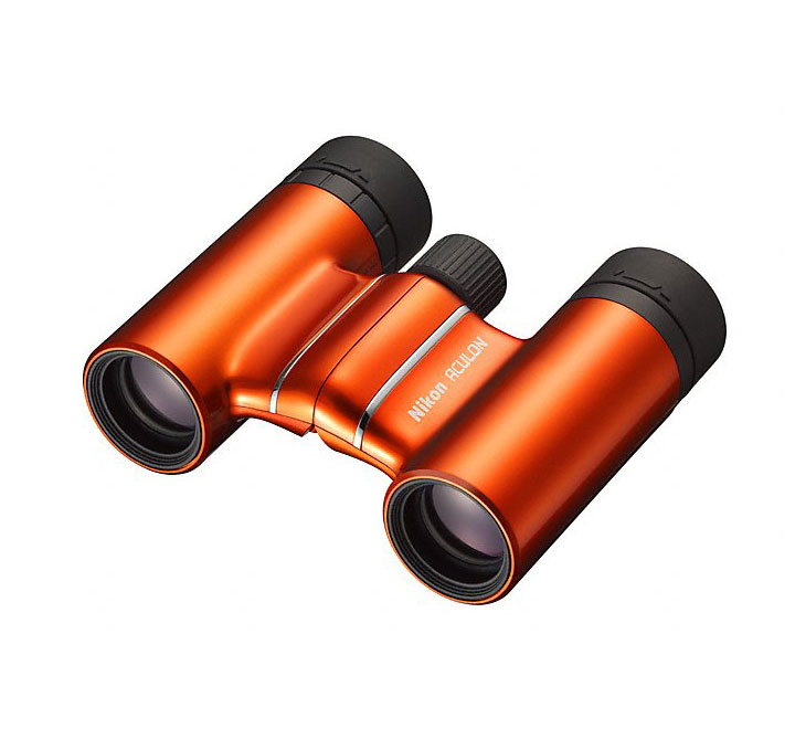 Бинокль Nikon Aculon T01 8x21, оранжевый
