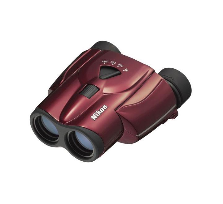 Бинокль Nikon Aculon T11 8–24x25 Zoom, красный