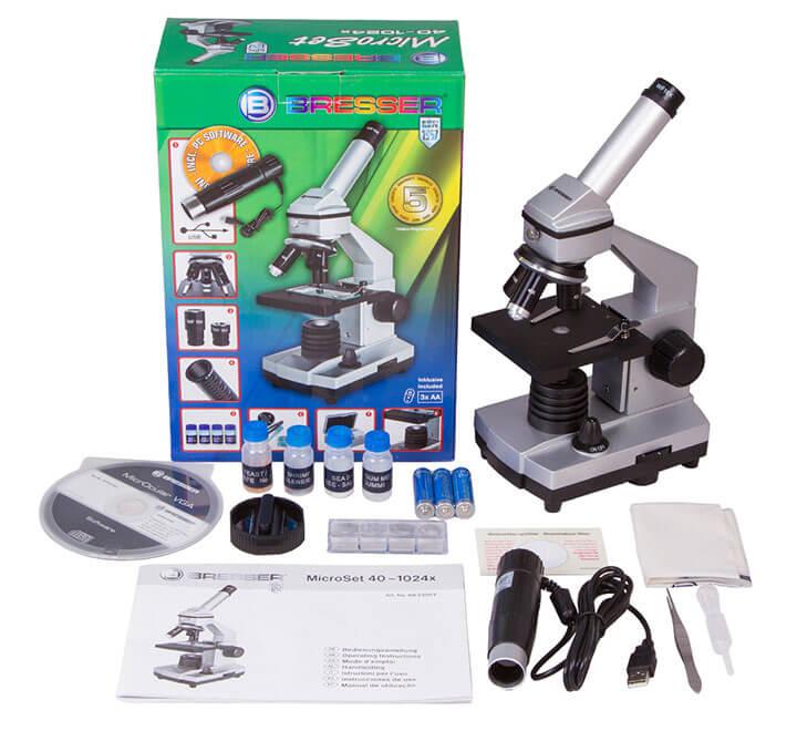 Микроскоп цифровой Bresser Junior 40x–1024x, без кейса