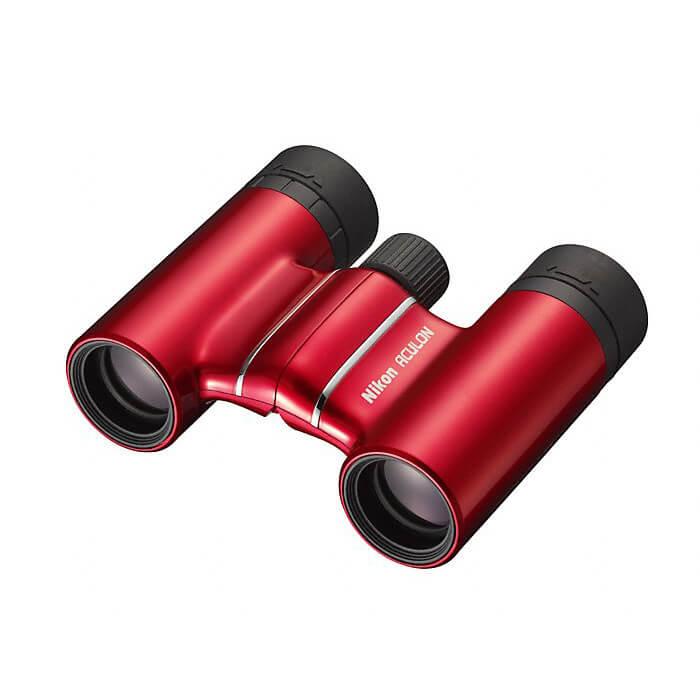 Бинокль Nikon Aculon T01 10x21, красный