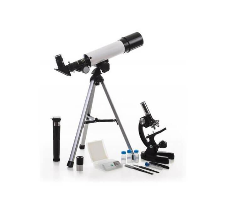Набор Velvi в кейсе: телескоп 360/50 и микроскоп 1200х