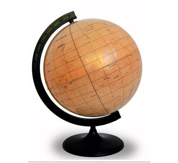 Глобус Марса диаметром 320 мм с подсветкой