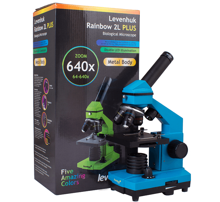 Микроскоп 640 крат