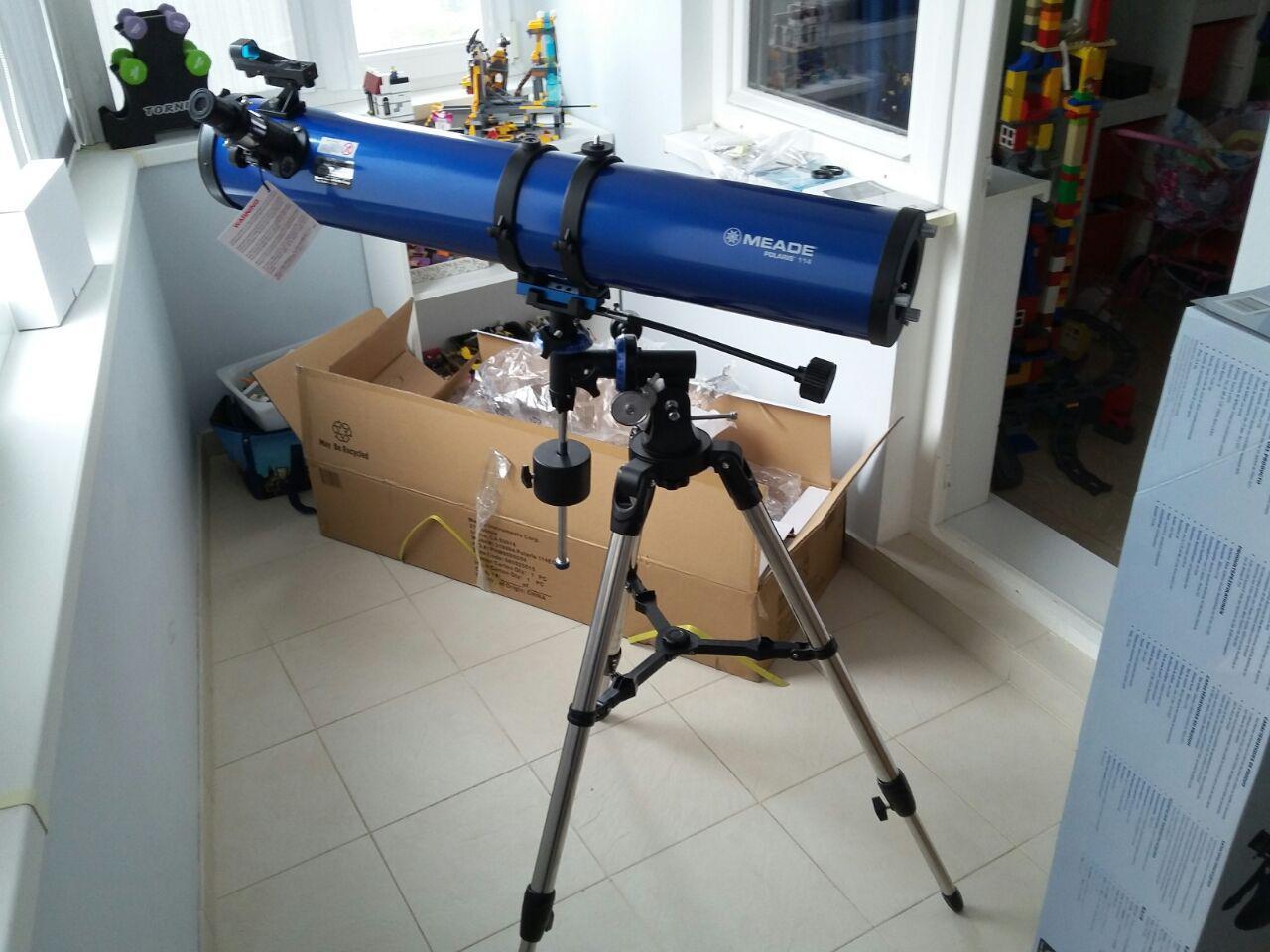 Отзыв Телескоп Meade Polaris 114 мм