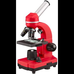 Микроскоп Bresser Junior Biolux SEL 40–1600x, красный